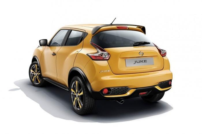 Nissan Juke сзади