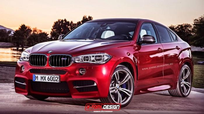 Реалистичная визуализация 2016 BMW X6 M