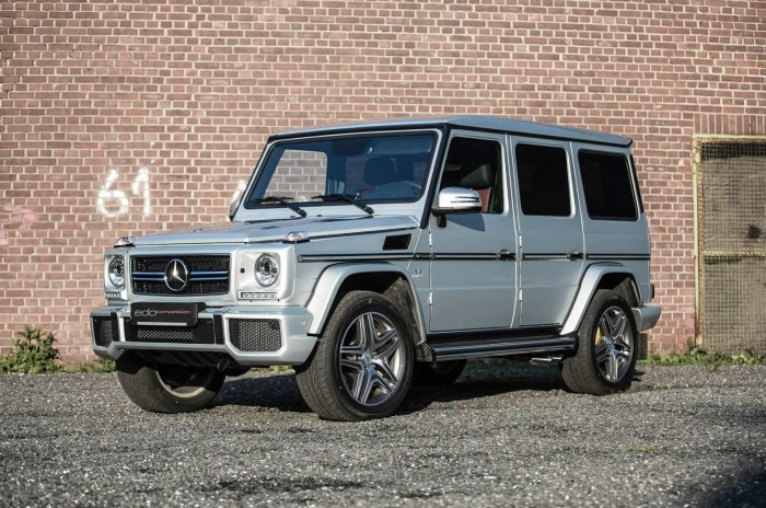 Mercedes-Benz G63 AMG от Edo Competition