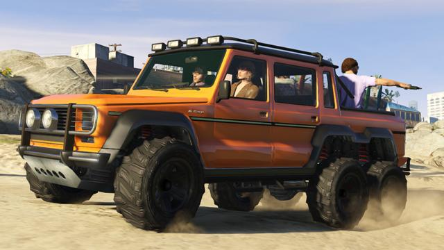 Mercedes-Benz G63 AMG ? ???? GTA V