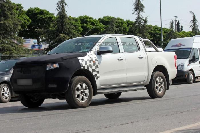Обновленный Ford Ranger
