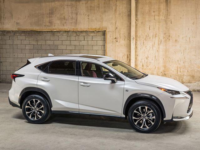 Lexus NX рендер купе