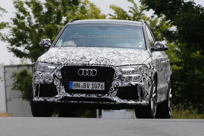 """Заряженный"" Audi RS Q3"