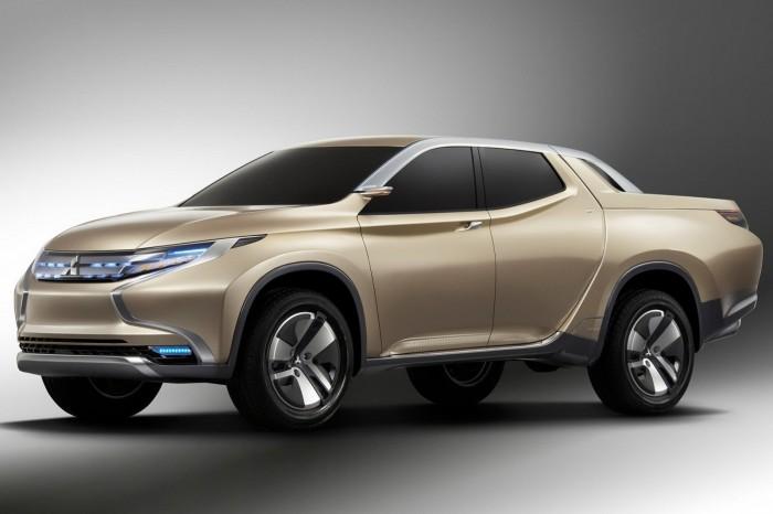Mitsubishi Hybrid Pickup