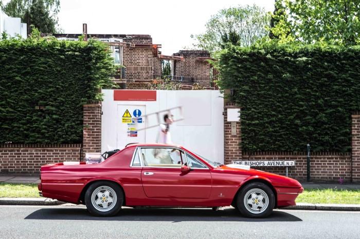 пикап Ferrari 412