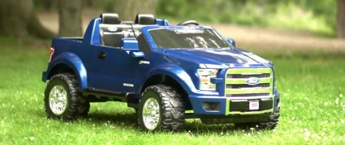 Power Wheels выпускают детскую версию 2015 Ford F-150