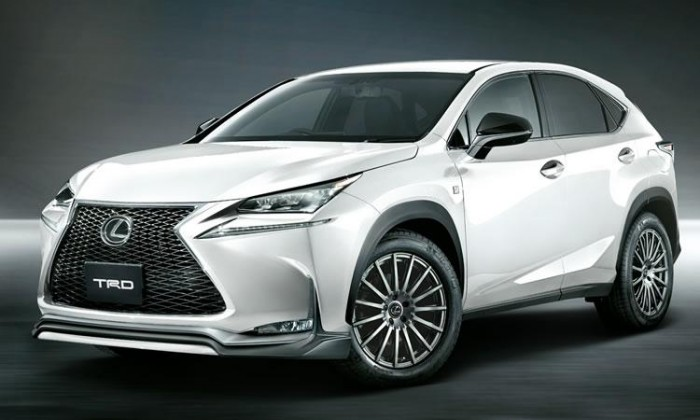"""Lexus NX получил """"плюшки"""" от TRD"""