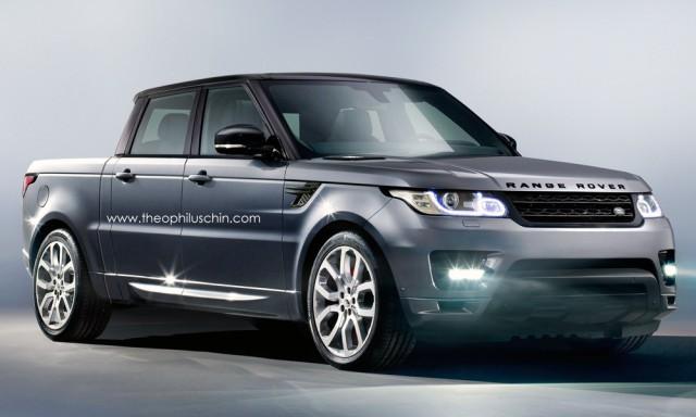 Пикап Range Rover Sport