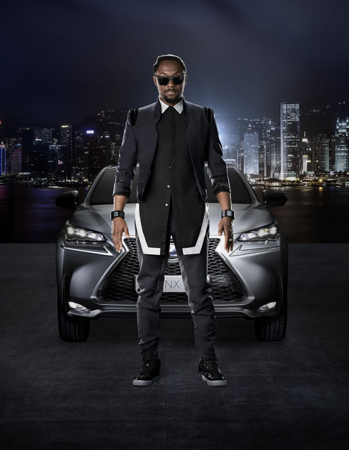 2015 Lexus NX ? Will.i.am