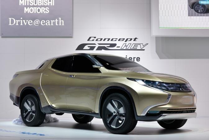 Концепция  Mitsubishi GR-HEV