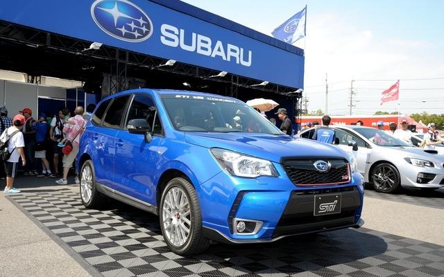 Subaru Forester STI tS