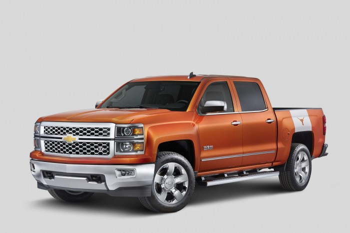 2015 Chevrolet Silverado University of Texas Edition