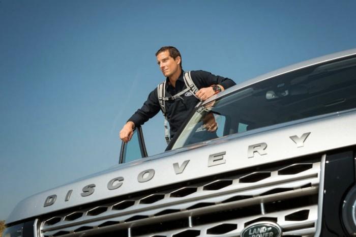 Land Rover расскажет про навыки выживания с Беаром Гриллсом