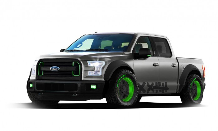 2015 Ford F-150 Vaughn Gittin Jr.
