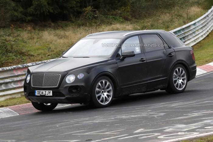 фото долгожданного кроссовера Bentley