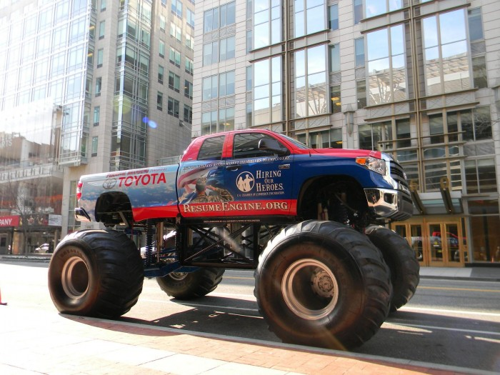 Hiring Our Heroes Monster Truck