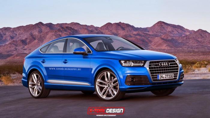 Audi Q8 рендер