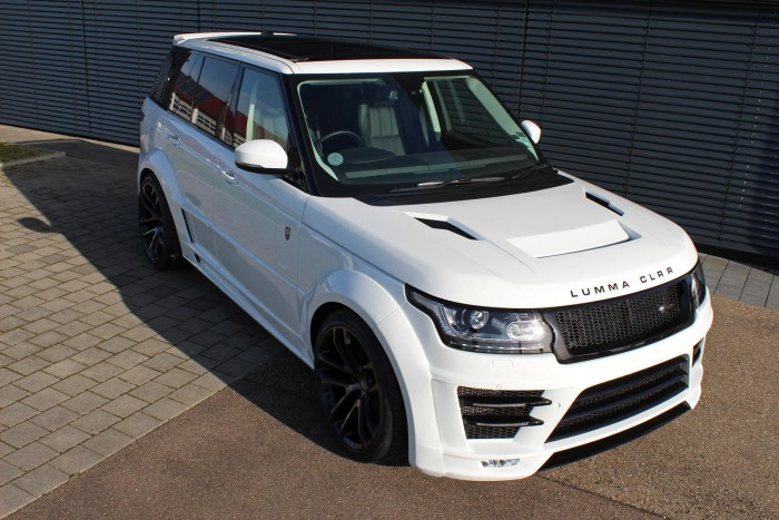 Range Rover от Lumma Design