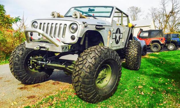 Jeep Wrangler Hauk Designs
