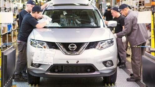 Новый белый Nissan X-Trail