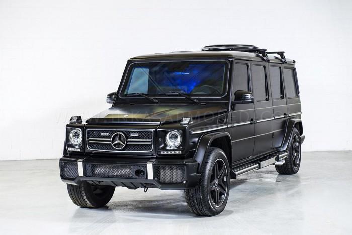 бронированный Mercedes-Benz G63 AMG