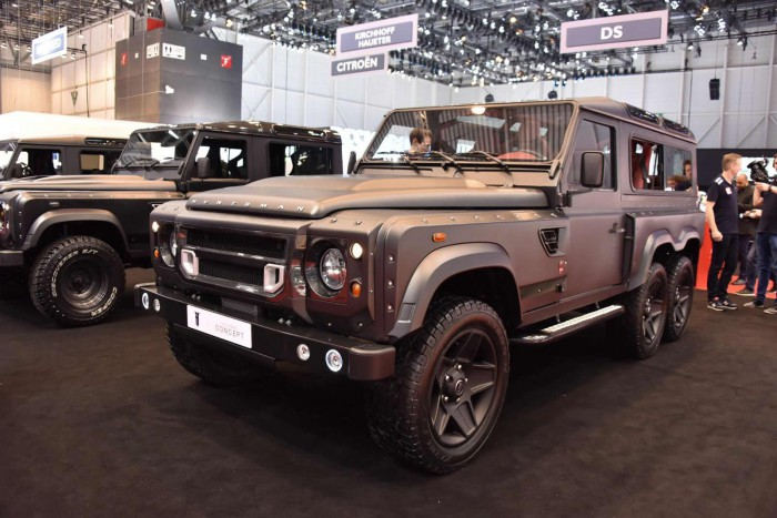 6-колесный Land Rover Defender  от Kahn Design