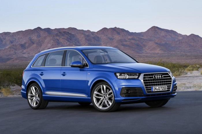Audi Q7 предзаказ