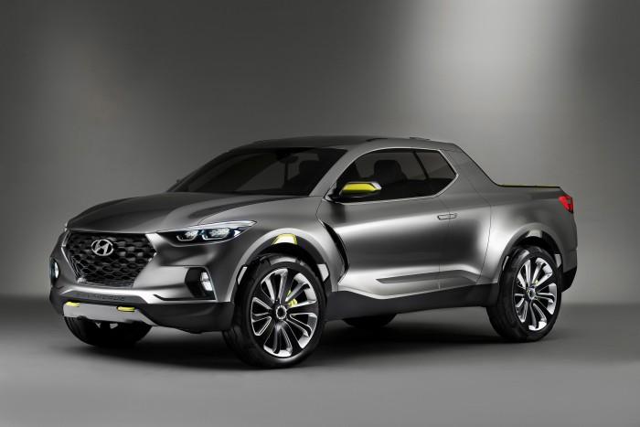 Hyundai HDC 15 Santa Cruz Concept