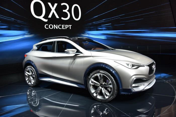 концепт Infiniti QX30