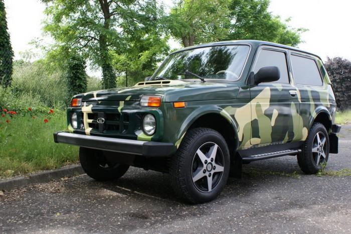 Lada-Niva-Kamouflage
