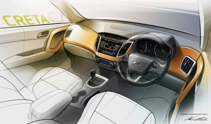 эскизы Hyundai Creta