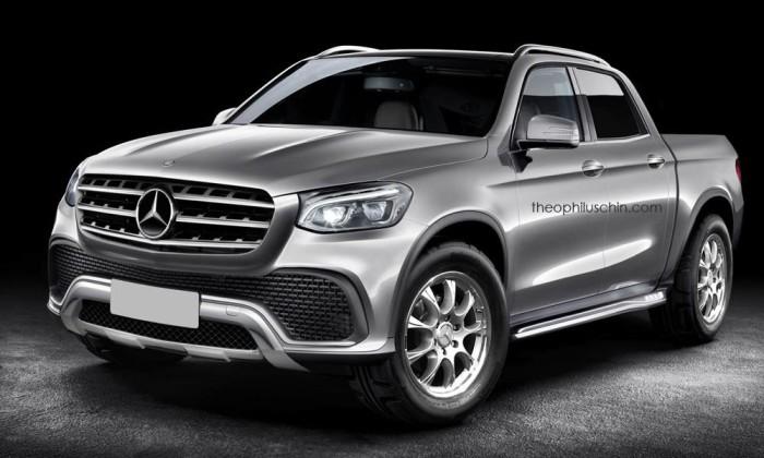 Mercedes-Benz пикап