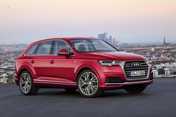 Audi Q5 визуализация