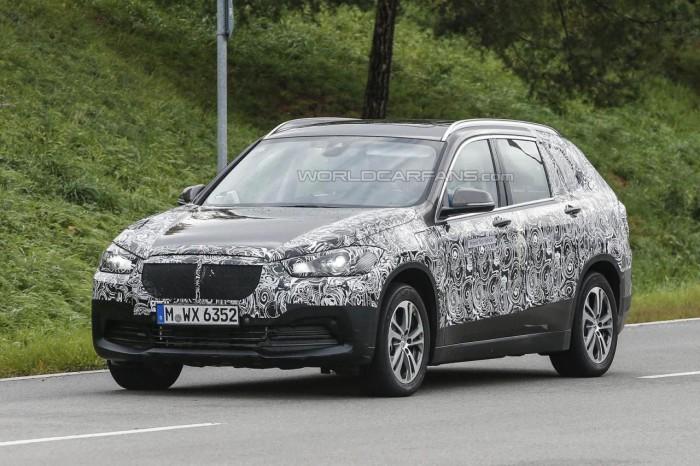 BMW X1 семиместный