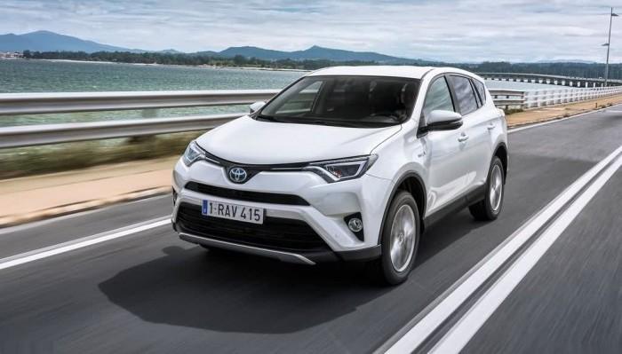 Toyota RAV4 Hybrid EU-Version 2016 17
