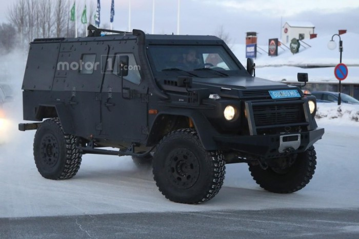 mercedes-g-class-light-armored-patrol-vehicle-spy-photo