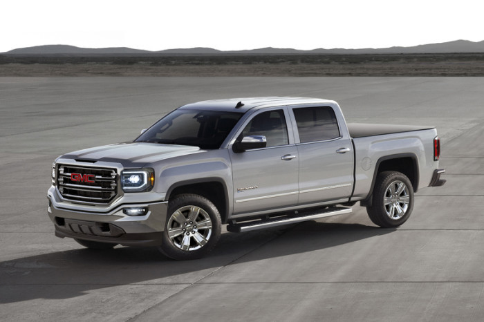 2016 GMC Sierra with eAssist
