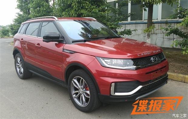 Landwind обновил китайского клона Range Rover Evoque